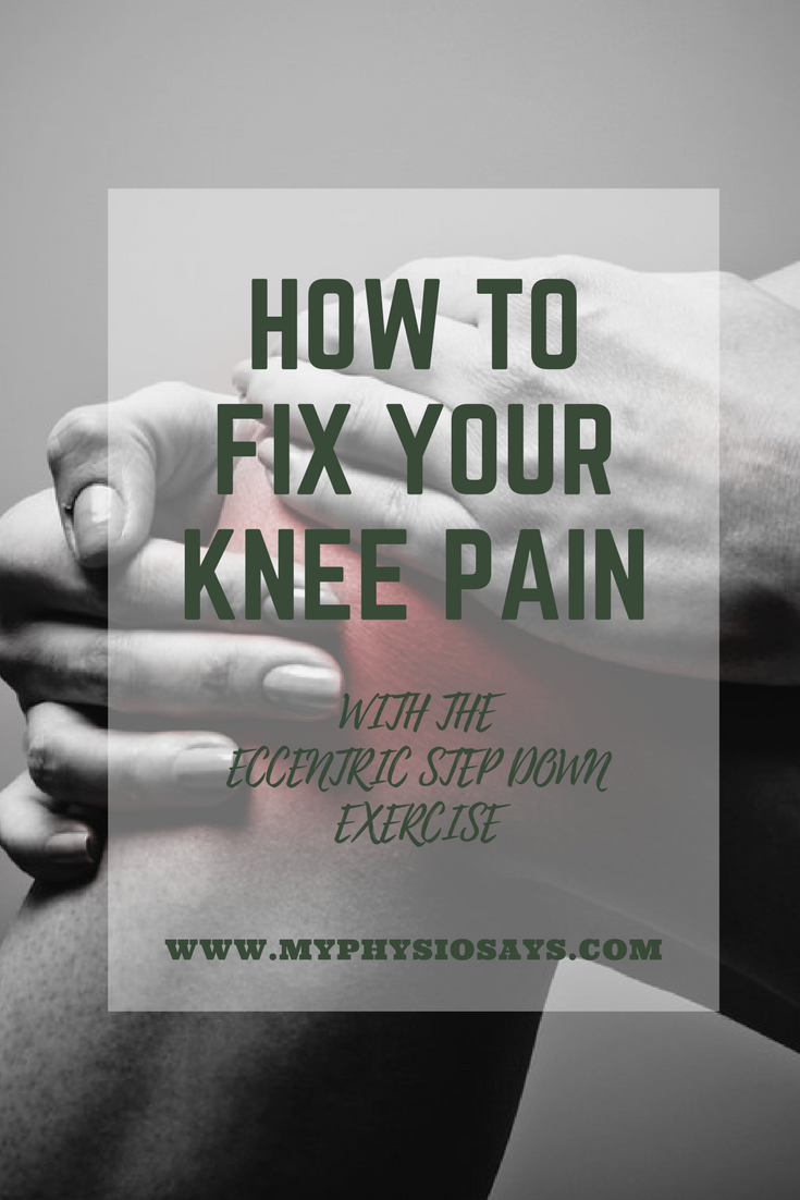 How to fix your knee pain with exercise