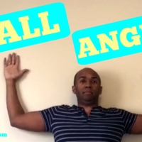 Wall Angel Exercise